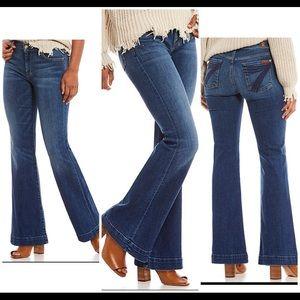 7 for All Mankind Wide Leg Dojo Jeans